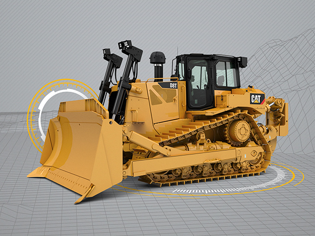 Tractor de Cadenas D8T