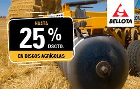 Discos agrícolas marca Bellota