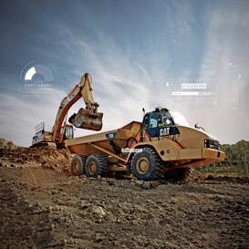 Vista 360 Excavadora 336 Next Gen